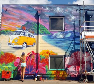 Erika Pearce Graffiti