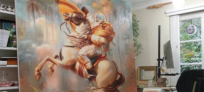 Johnny Morant surrealism painting