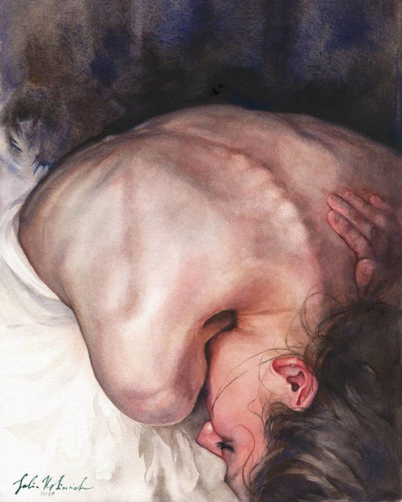 Julia Ustinovich Art ⓖ thegallerist.art