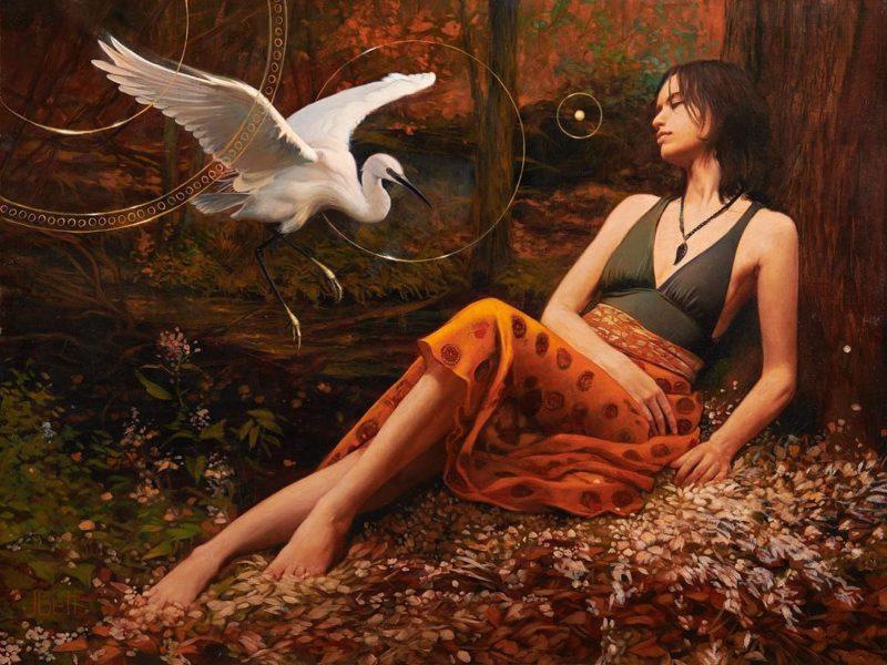 Julie Bell Art ⓖ thegallerist.art