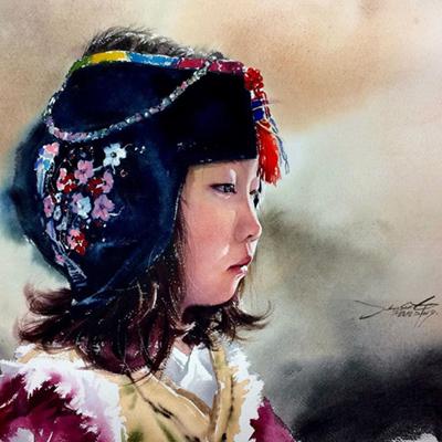 Jung hun-sung watercolor painting