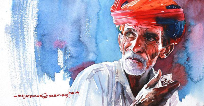 Rajkumar Sthabathy Art ⓖ thegallerist.art