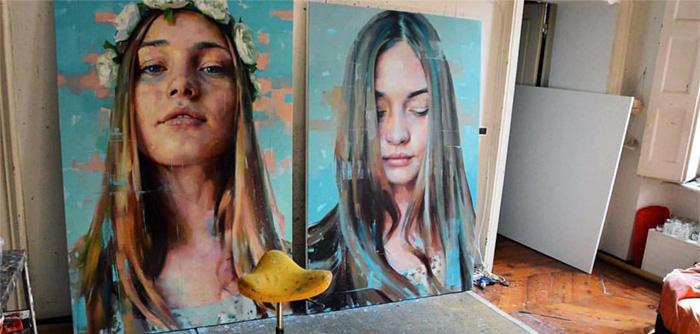 Silvio Porzionato Painting