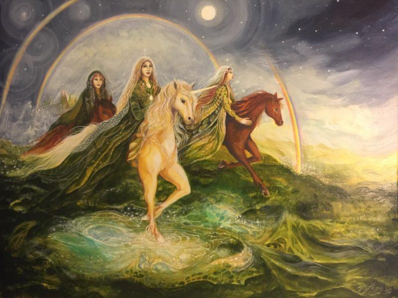 Tessa Mythos Art ⓖ thegallerist.art