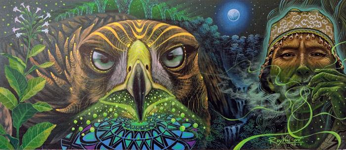 Walter Tamani Arirama visionary painting