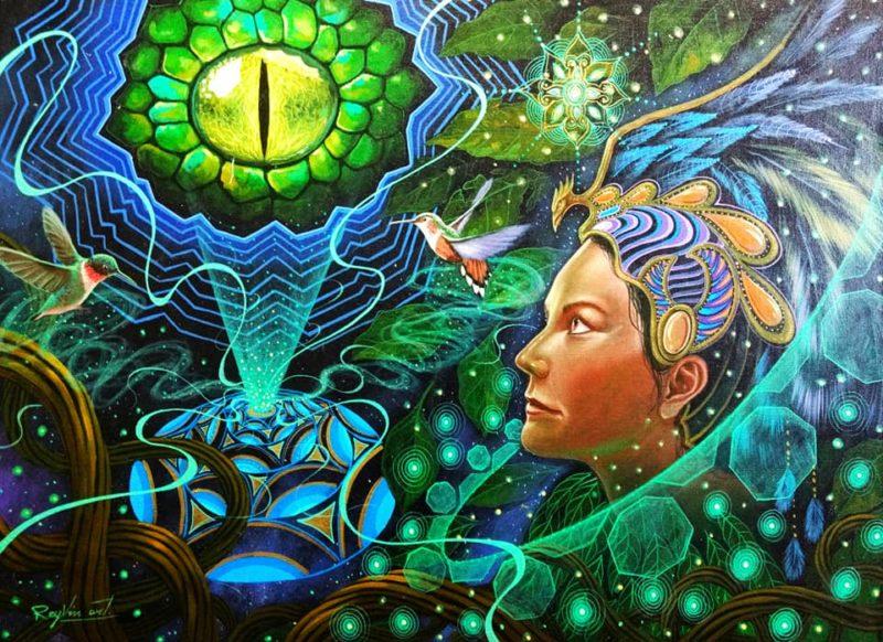 Walter Tamani Arirama Art ⓖ thegallerist.art