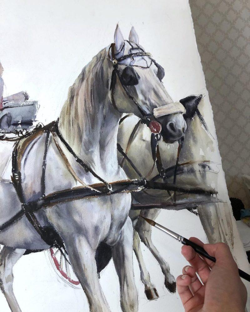 Anastasia Kustova Art ⓖ thegallerist.art