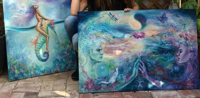 Erica Robin Painting