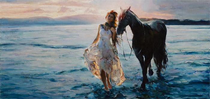 Michael & Inessa Garmash painting