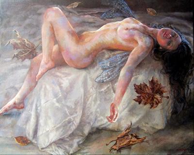 Remy Daza Rojas painting