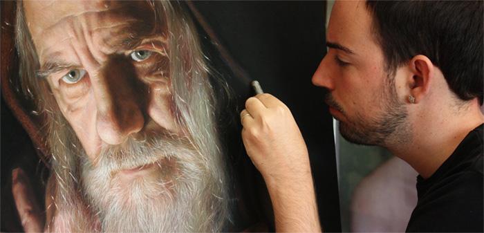 Rubén Belloso Painting