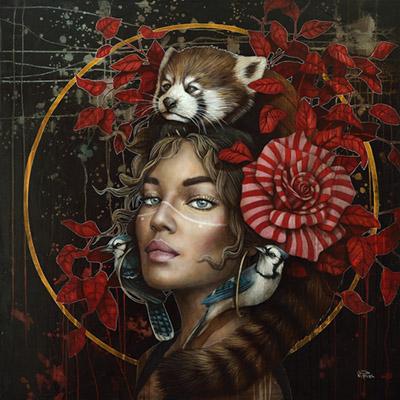 Sophie Wilkins painting