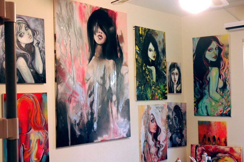 Aja Trier Art ⓖ thegallerist.art