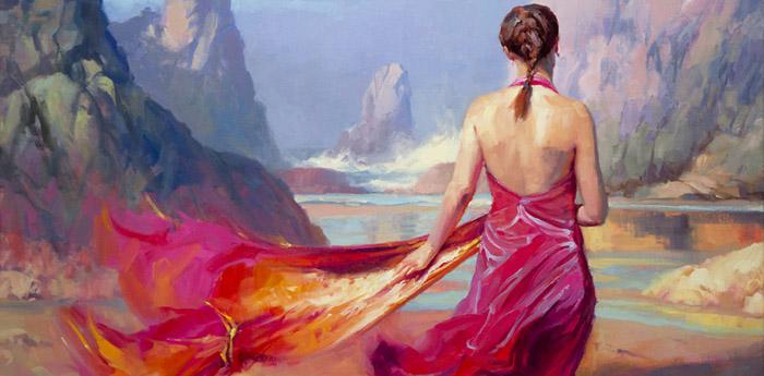 Steve Henderson painting