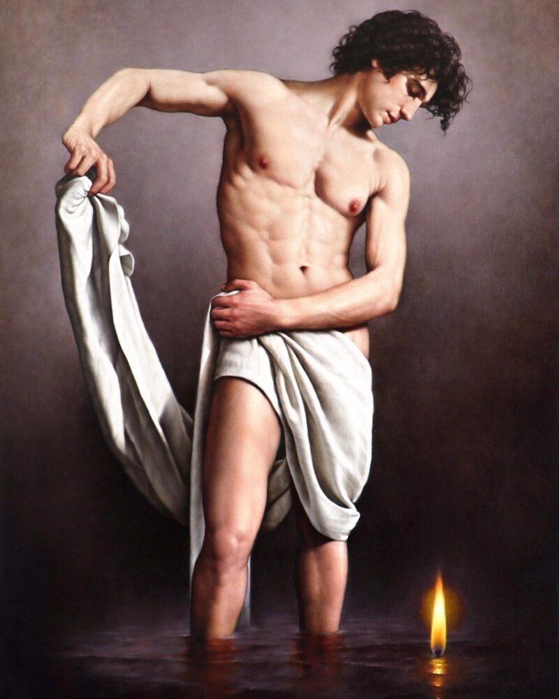 Giorgio Dante Painting ⓖ thegallerist.art