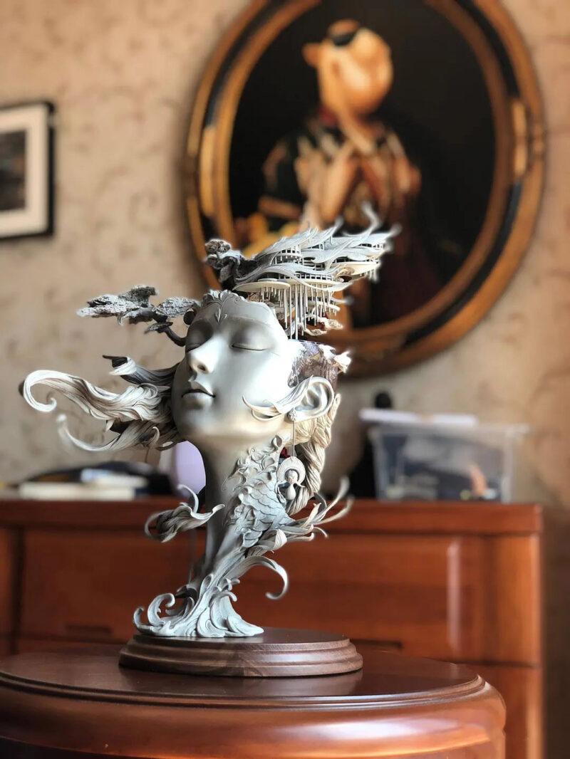 Yuanxing Liang Sculpture ⓖ thegallerist.art