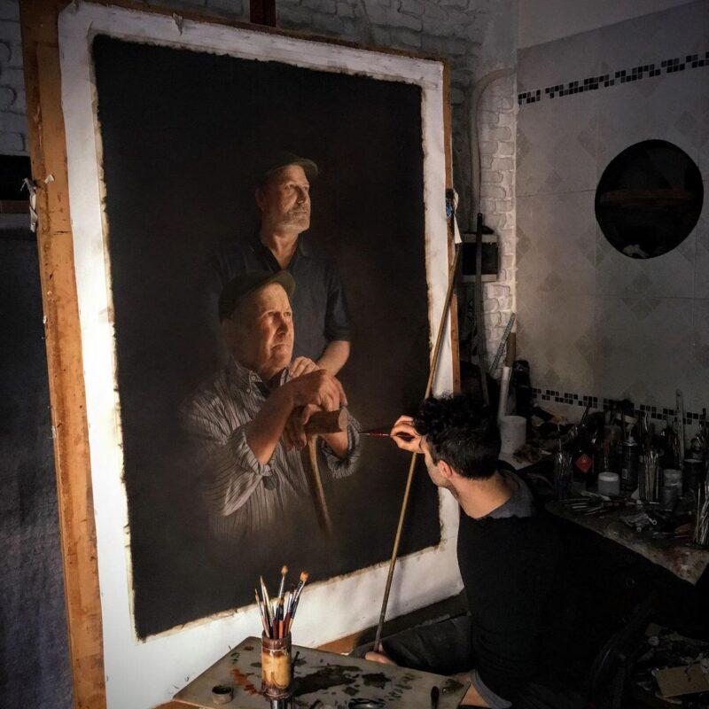 Hernan Javier Muñoz Art ⓖ thegallerist.art