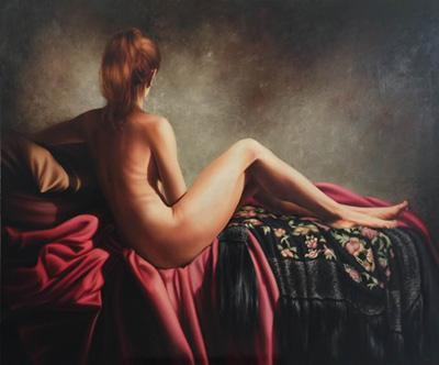 Lujan Gallardo painting