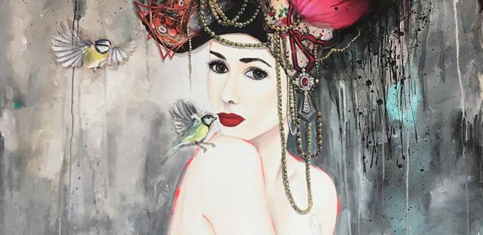 Valerie Maugeri painting
