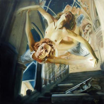 Jolanda Richter painting
