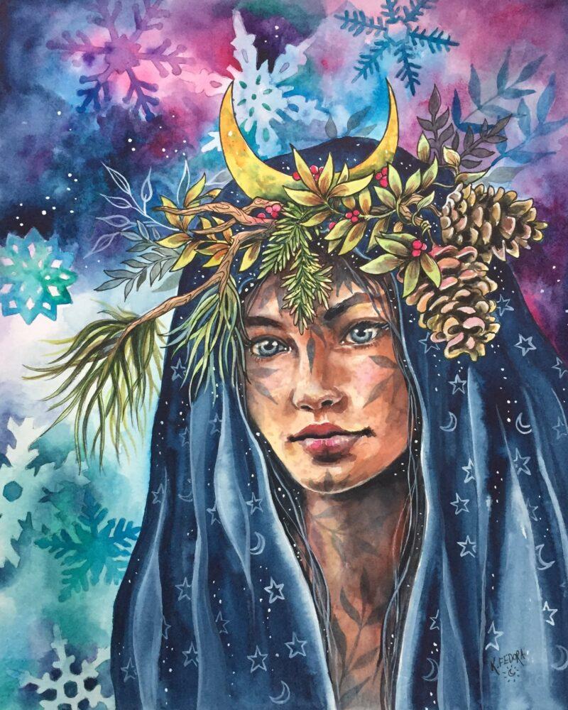 Kat Fedora Painting @ TheGallerist.art