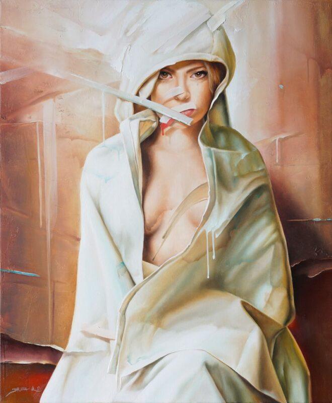 Lukasz Jaruga painting @ TheGallerist.art