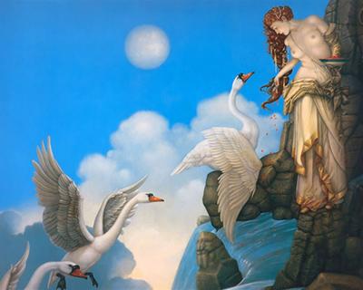 Michael Parkes painting