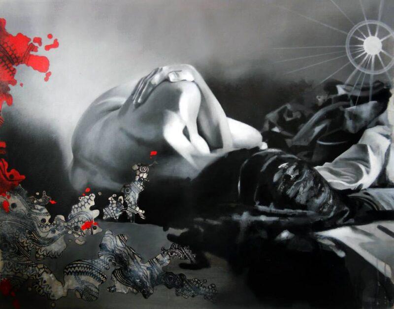 Nicole Roumelioti Painting @ TheGallerist.art