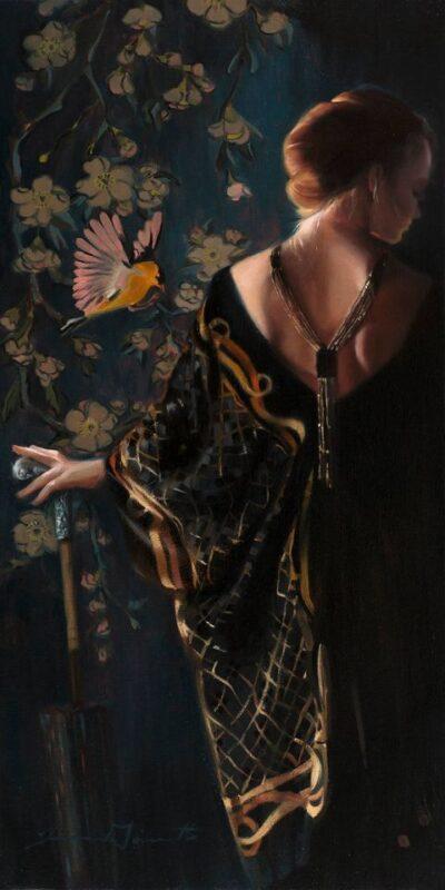 Tina Garrett Painting ⓖ thegallerist.art