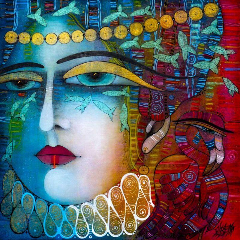 Albena Vatcheva Painting @ TheGallerist.art