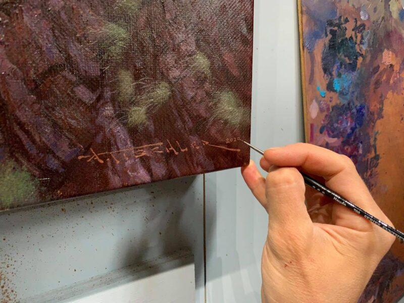 Andrew Tischler Painting @ TheGallerist.art