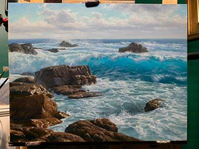 Andrew Tischler painting