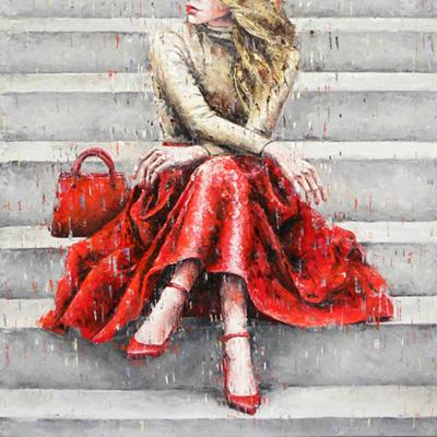 Cristina Fornarelli painting