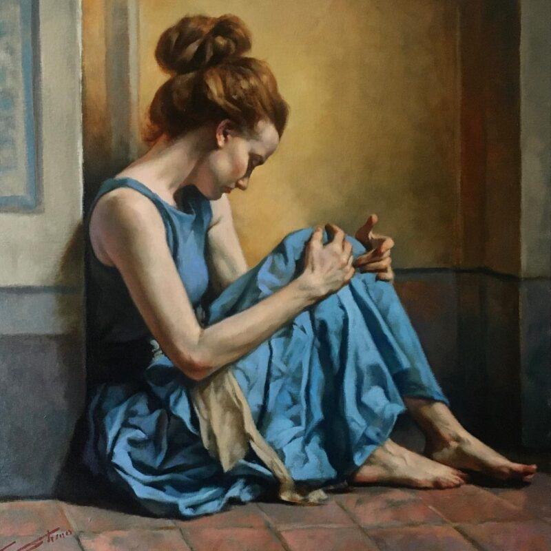 Gianni Strino Painting @ TheGallerist.art