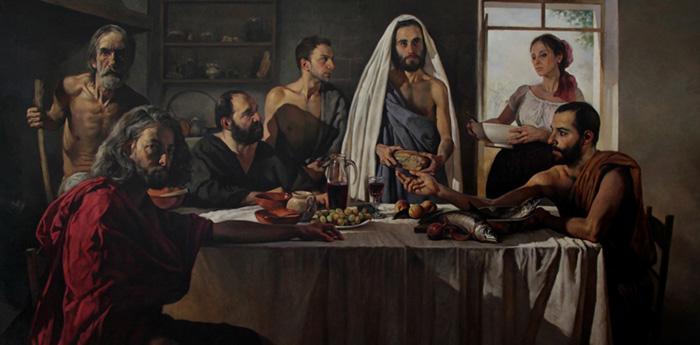 Gianni Strino painting