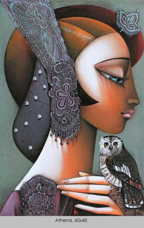 Ira Tsantekidou Painting @ TheGallerist.art
