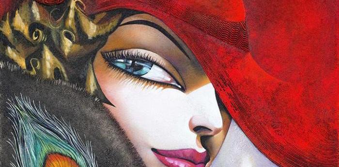 Ira Tsantekidou painting
