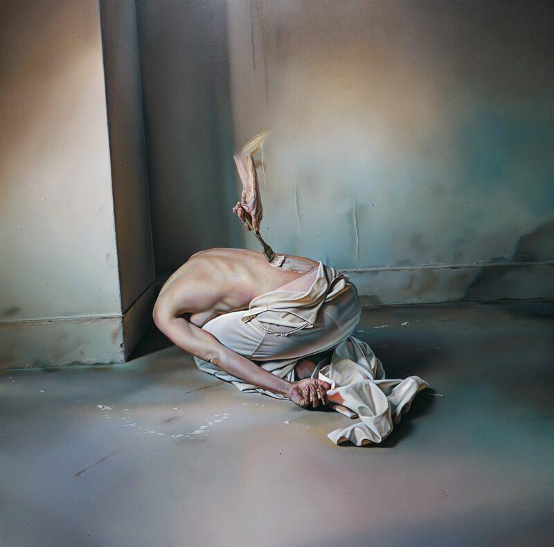 István Sándorfi Painting @ TheGallerist.art