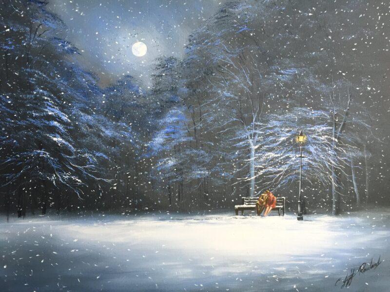 Jeff Rowland Painting @ TheGallerist.art