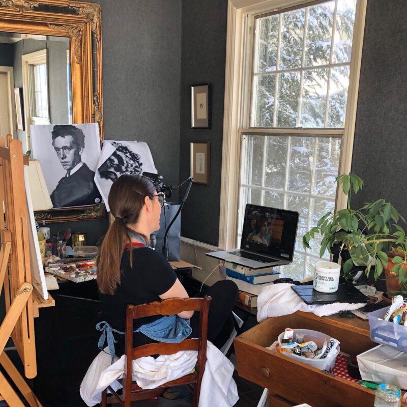 Juliette Belmonte Painter @ TheGallerist.art
