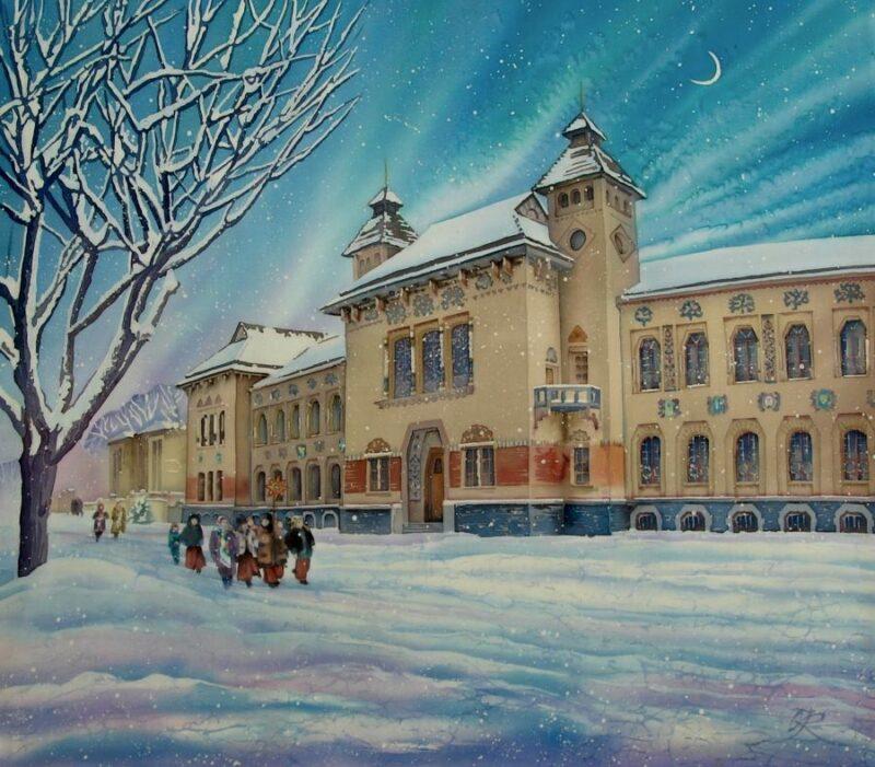 Olena Korolyuk Painting @ TheGallerist.art