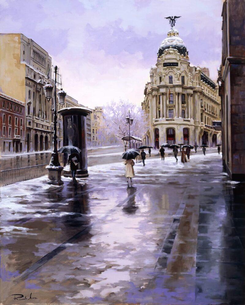 Ricardo Sanz Painting @ TheGallerist.art