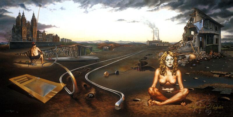 Roland Heyder Painting @ TheGallerist.art