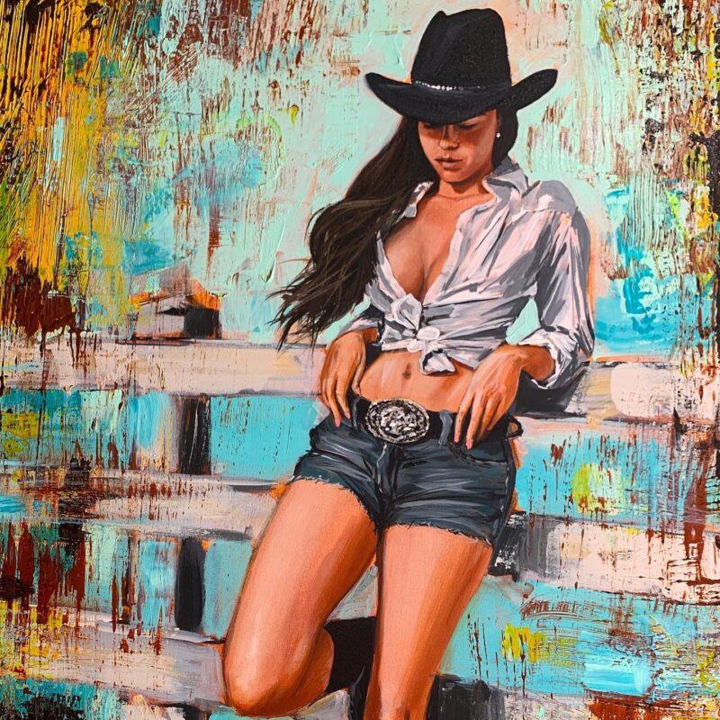 Shawn Mackey Painting @ TheGallerist.art