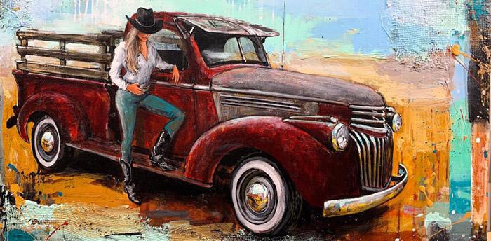 Shawn Mackey painting