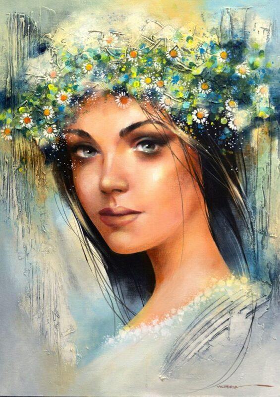 Victoria Stoyanova Painting @ TheGallerist.art
