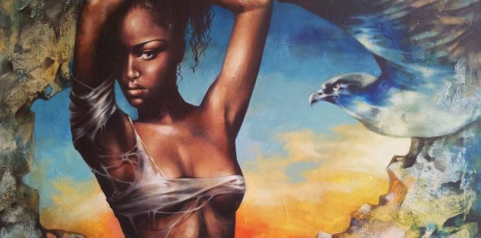 Victoria Stoyanova painting