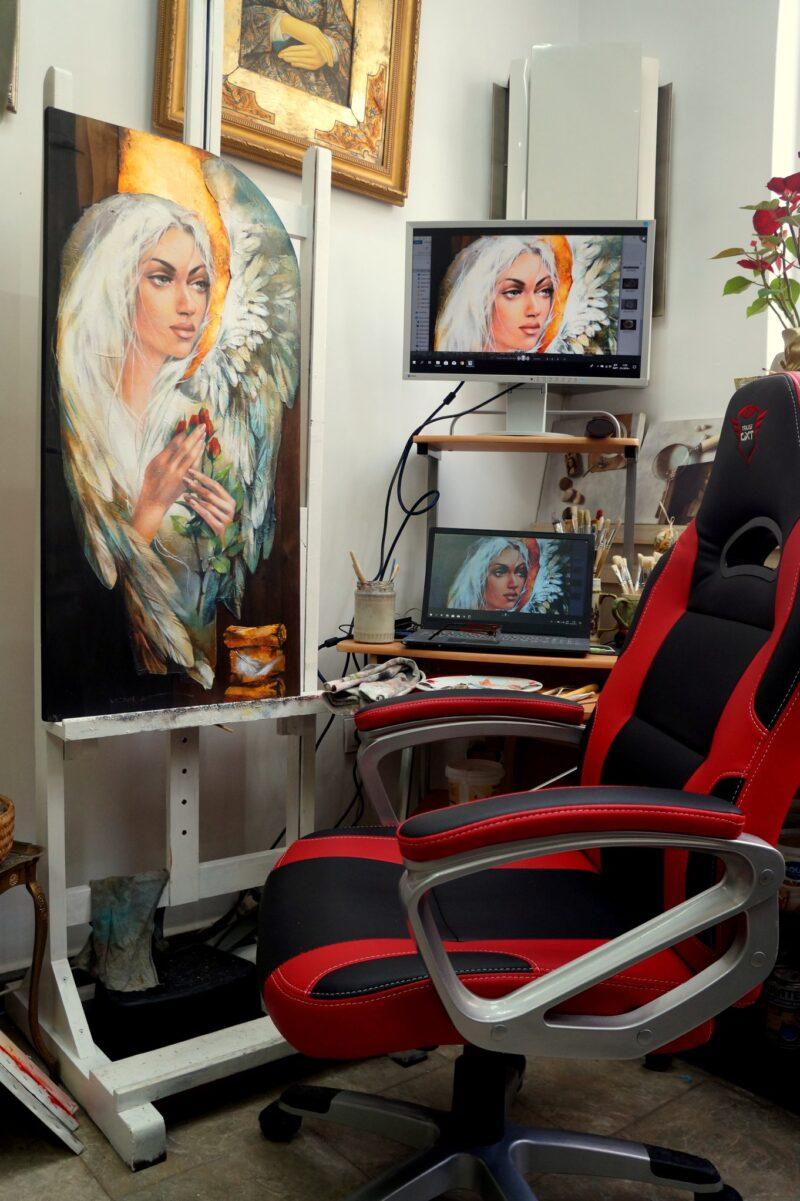 Victoria Stoyanova Studio @ TheGallerist.art