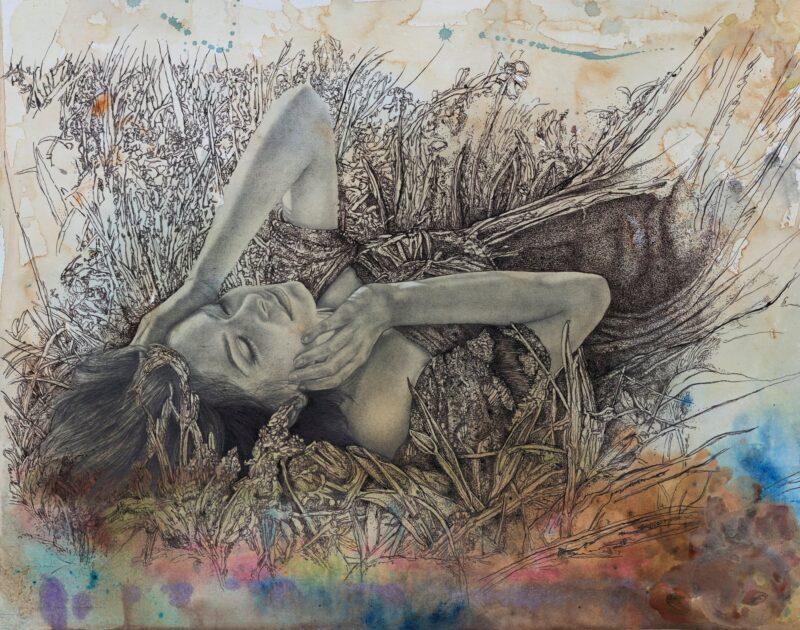 Aga Osak Painting @ TheGallerist.art