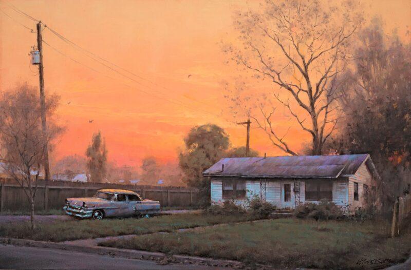 Gavin Glakas Painting @ TheGallerist.art